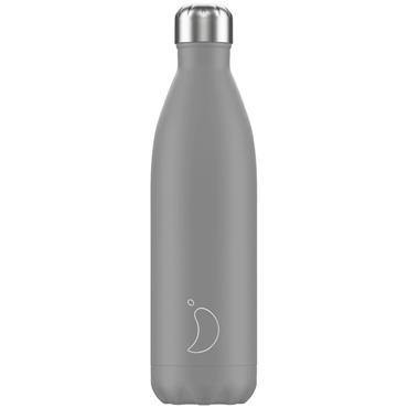 Chilly's Monochrome Grey Bottle 750ml