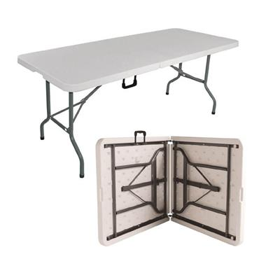 1.80m Heavy Duty Pvc Folding Table