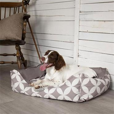 Scruffs Florence Box Bed Medium  Grey