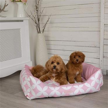 Scruffs Florence Box Bed Medium  Pink