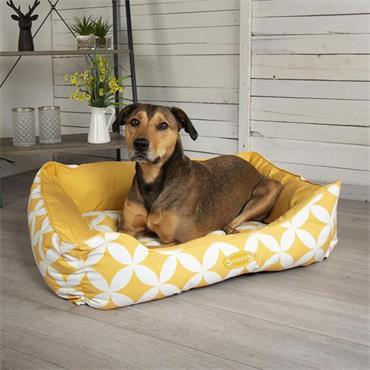 Scruffs Florence Box Bed Medium Sunflower