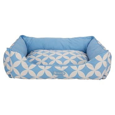Scruffs Florence Box Bed Medium Blue
