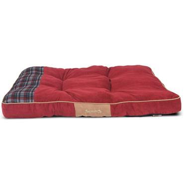 Scruffs Assorted Highland Mattress Medium Red / Blue