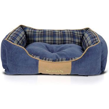 Scruffs Highland Box Bed Medium Blue