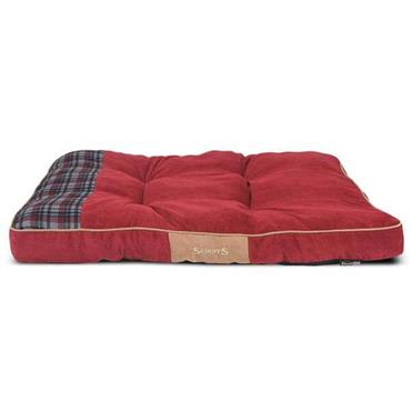 Scruffs Highland Box Bed Medium Red