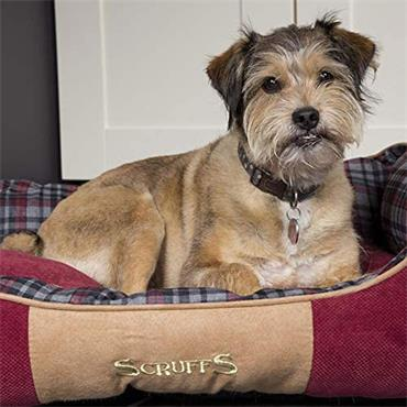 Scruffs Highland Box Bed Large Red