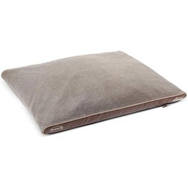 Scruffs Chateau Memory Foam Ortho Pillow  X-Large Latte