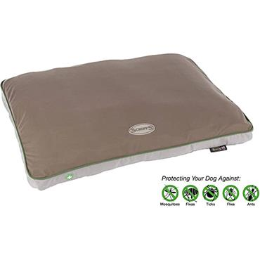Scruffs Mattress 82 x 58cm Medium Taupe With Insect Shield