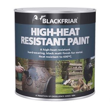 Blackfriar Heat Resistant Paint Black 500ml