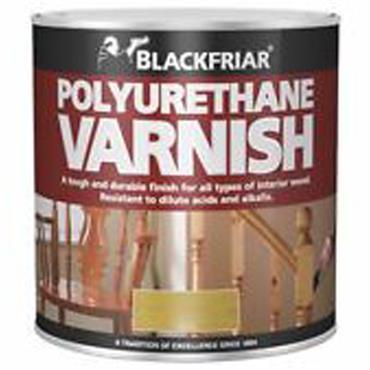 Blackfriar Polyurethane Varnish Gloss Clear 1L