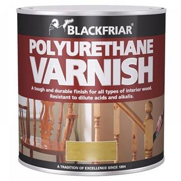Blackfriar Polyurethane Varnish Clear Satin 1L