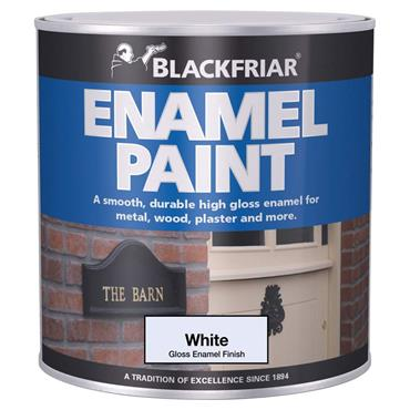 Blackfriar Enamel Paint White 125ml