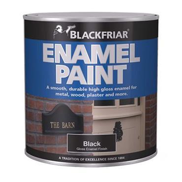 Blackfriar Enamel Paint Black 125ml