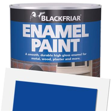 Blackfriar Enamel Paint Oxford Blue 125ml