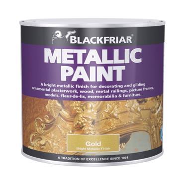 Blackfriar Metallic Paint Gold 125ml