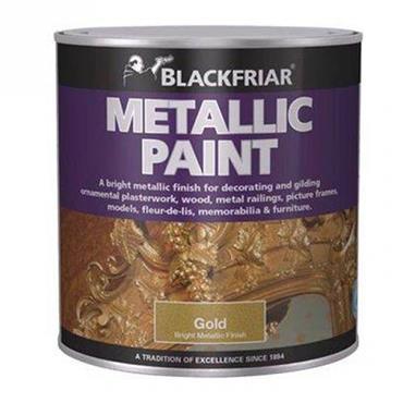 Blackfriar Metallic Paint Gold 250ml