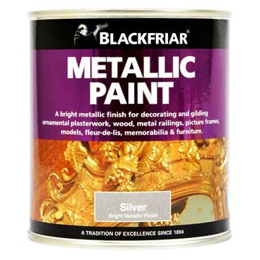 Blackfriar Metallic Paint Silver 500ml