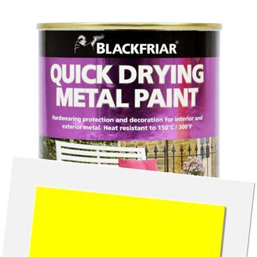 Blackfriar Quick Dry Metal Paint Yellow 500ml