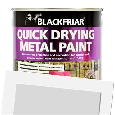 Blackfriar Quick Dry Metal Paint Silver 500ml