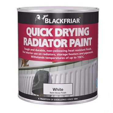 Blackfriar Quick Drying Radiator Paint White 250ml