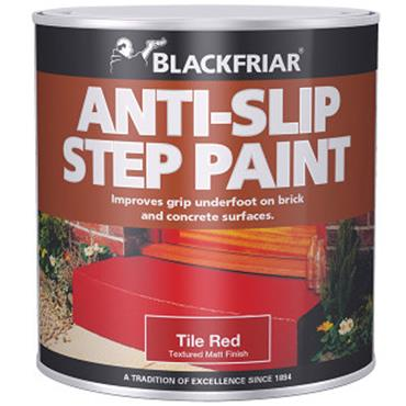 Blackfriar Anti Slip Step Paint Tile Red 500ml