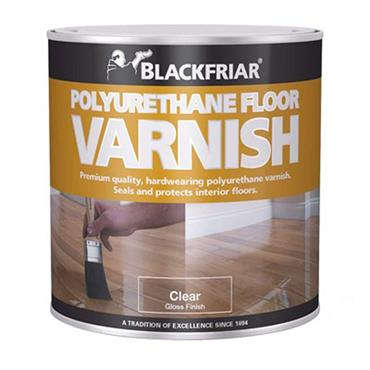 Blackfriar Polyurethane Floor Varnish Satin Clear 5L