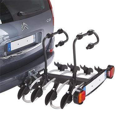 Mottez 4 Bike Tow Ball Platform Carrier
