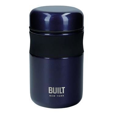 Built 490ml Midnight Blue Food Flask