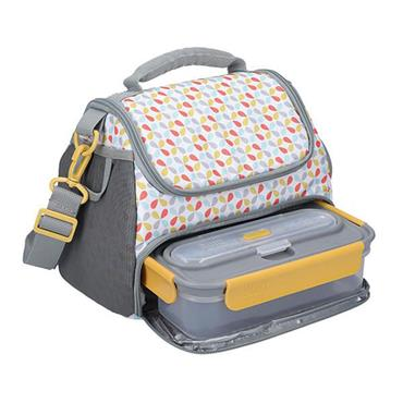 Built Stylist 6L Lunch Bag with Storage Compartment