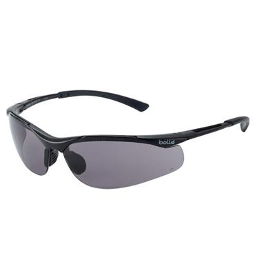 Bolle CONTOUR PLATINUM Safety Glasses - Smoke