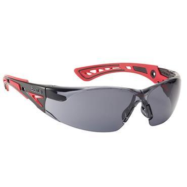 Bolle Rush Platinmum Smoke Safety Glasses