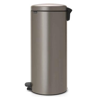 Brabantia Pedal Bin Platinum Newicon Plastic Bucket 30L