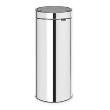 Brabantia Touch Bin 30L Brilliant Steel