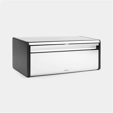 Brabantia Fall Front Bread Bin Brill Steel