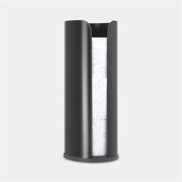 Brabantia Toilet Roll Dispenser Matt Black