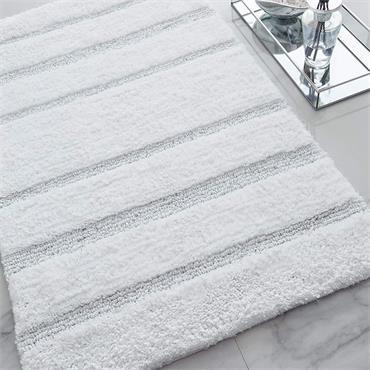 Catherine Lansfield Sparkle Bath Mat White
