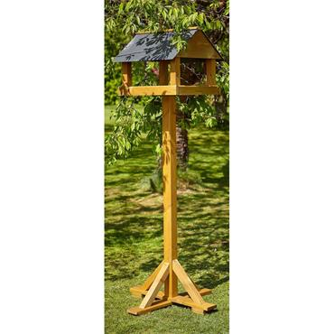 Tom Chambers Giant Ryedale Bird Table Slate Roof With Post