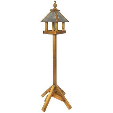 Tom Chambers Baby Bedale Bird Table Slate Roof With Post