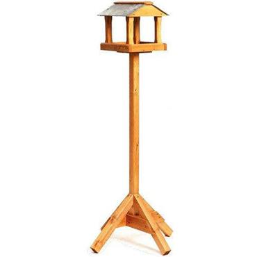 Tom Chambers Baby Ryedale Bird Table Slate Roof With Post