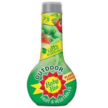 Baby Bio Outdoor Vegetables 750ml