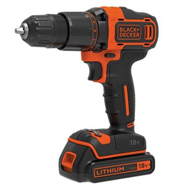Black & Decker Combi Drill 18v & 1.5 Ah Battery