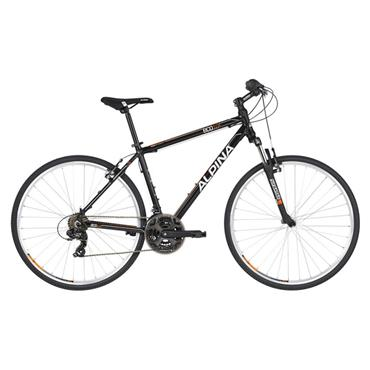 Alpina Eco C10 Hybrid Bike Black Large