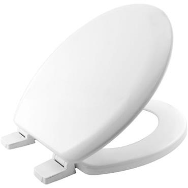 Bemis Moulded Wood Toilet Seat White