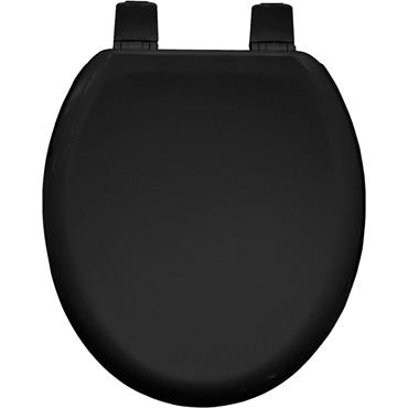 Bemis Moulded Wood Black Toilet Seat