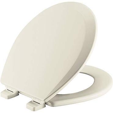 Bemis Moulded Wood Soft Cream Toilet Seat