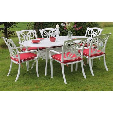 Summerfly 6 Seater Oval Dining Set