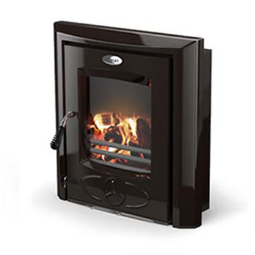 Waterford Stanley Cara Insert Eco Multi Fuel Stove Black