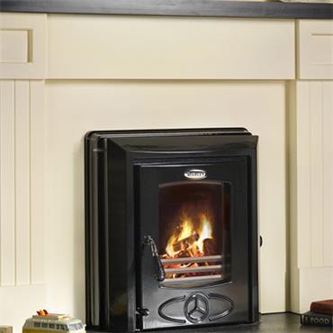 Waterford Stanley Cara+ Insert Boiler Stove Enamel Black
