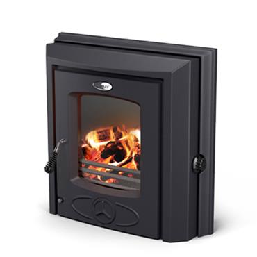 Waterford Stanley Cara+ Insert Boiler Stove Matt Black
