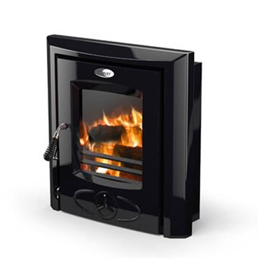 Waterford Stanley Cara Insert Non Boiler Stove Enamel Black